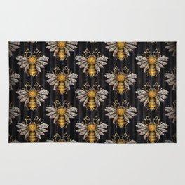 Crystal bumblebee Rug
