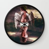 tarot Wall Clocks featuring The Tarot by J ō v