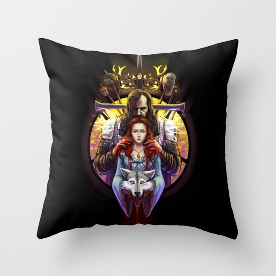 The Blood Maiden Throw Pillow