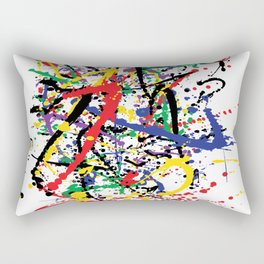 Pollock Remembered by Kathy Morton Stanion Rectangular Pillow