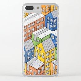 House on house Clear iPhone Case
