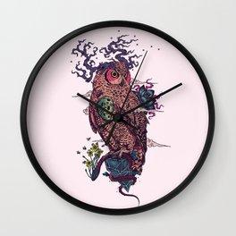 Regrowth Wall Clock