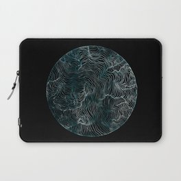 Lines of the Tide Laptop Sleeve