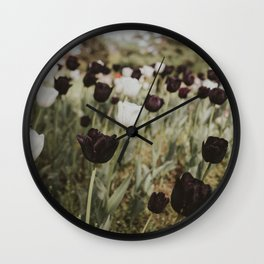 Tulips in Germany Wall Clock