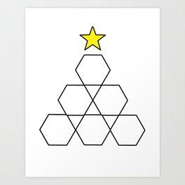 Hex, it's Christmas! Art Print