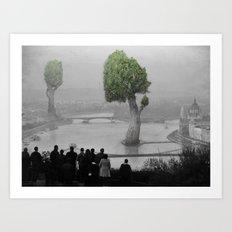 City of Nature Art Print