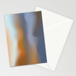 Nebulous Umber Stationery Cards