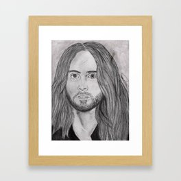 Looking for Jesus, Get On Your Knees Framed Art Print