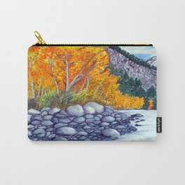 Along the lake.. Carry-All Pouch