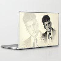 zayn malik Laptop & iPad Skins featuring Zayn by Creadoorm