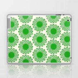 vintage flowers green Laptop & iPad Skin