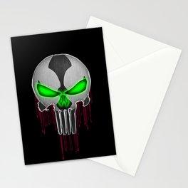 Punisher Spawn Mash-Up Stationery Cards