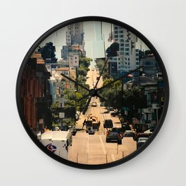 It's a Cubist's World Wall Clock