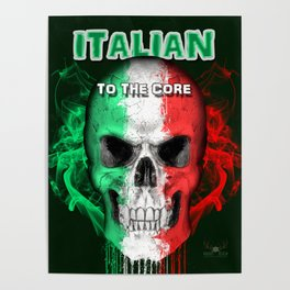 To The Core Collection: Italy Poster
