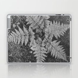 Ansel Adams - Close-up of Fern at Glacier National Park Laptop & iPad Skin