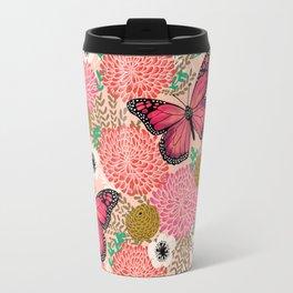Monarch Florals by Andrea Lauren  Travel Mug