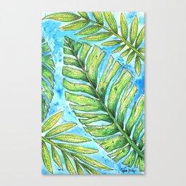 Tropical Healing Canvas Print