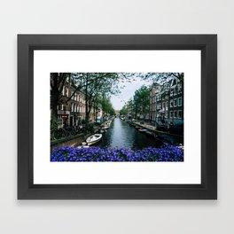Charming Amsterdam Framed Art Print