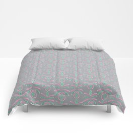 Cereal for Dinner - Geometric Comforters