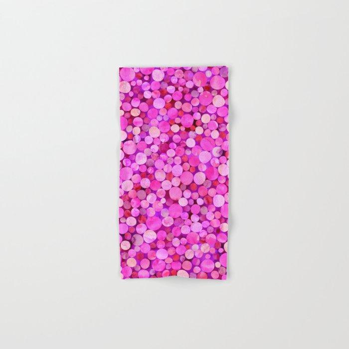 Confetti Pattern 01 Hand & Bath Towel