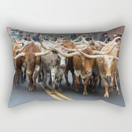 National Western Stock Show Parade Rectangular Pillow