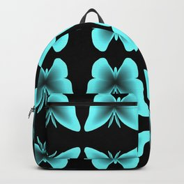 Blue Butterfly Print / Pattern Backpack