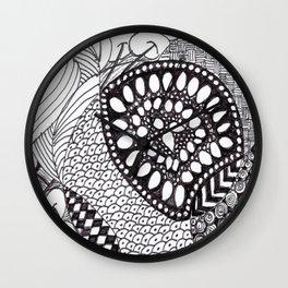 Zen Doodle Graphics zz04 Wall Clock