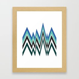 Pattern 1 Framed Art Print