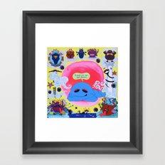 MokshaBum Mandala Framed Art Print
