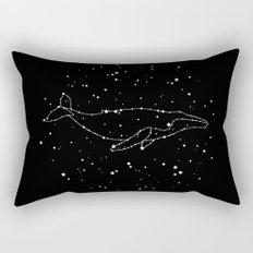 Whale Constellation  Rectangular Pillow