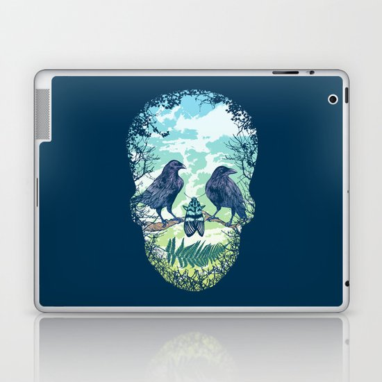 Nature's Skull Laptop & iPad Skin