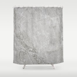 Rustic White Pattern (Black and White) Shower Curtain