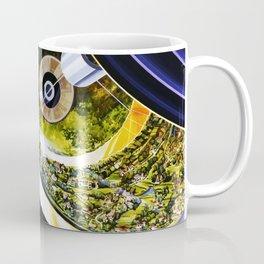 Cutaway View, Bernal Sphere Coffee Mug