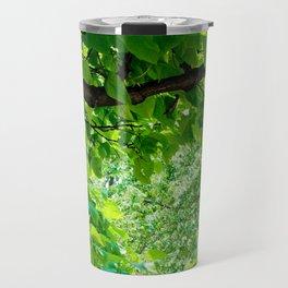 Peek into the Summer Trees Travel Mug