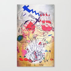 sarah tonin Canvas Print