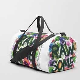 Rawsome - Plant Power Duffle Bag