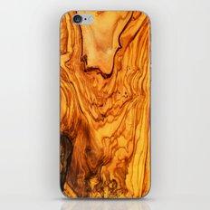 olive tree wood iPhone & iPod Skin