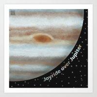 Joyride Over Jupiter Art Print