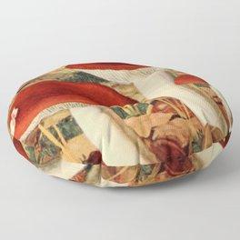 Naturalist Mushroom Floor Pillow