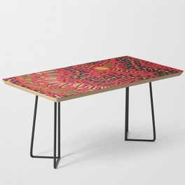 Doodle 16 Red Coffee Table
