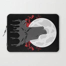 Howl at the Moon (Awoo) Laptop Sleeve