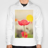 imagine Hoodies featuring Imagine by Laura Ruth