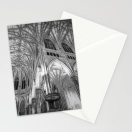 St Patrick's Cathedral New York Art Stationery Cards