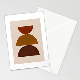 Mid Century Modern-Balance Stationery Cards