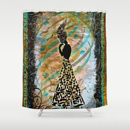 Persian Nostalgia Shower Curtain