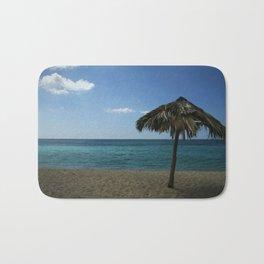 Caribean beach Bath Mat