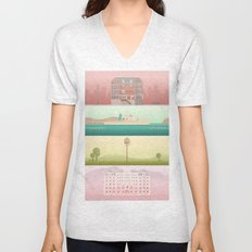 A Wes Anderson Collection Unisex V-Neck