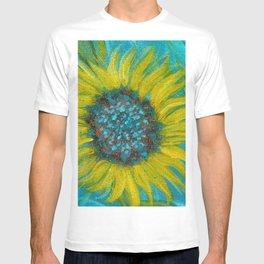 Sunflowers on Turquoise II T-shirt