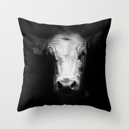 Cow 3141 Throw Pillow