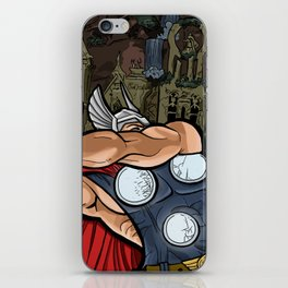 The Mighty Thor, God of Thunder iPhone Skin